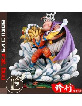 Master Grade 1/6 Super Goku 3 VS Fat Buu Resin Statue