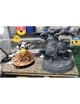 KD Collectibles 1/4 Scale Vegeta Vs C19 Resin Statue