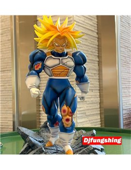 Djfungshing Battle Wounded Trunks Resin Statue (Sold Out Display)
