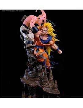Ryu Studio Dragonball Z Goku Vs Buu Resin Statue Licensed