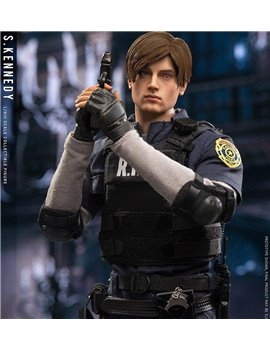DAMTOYS 1/6 LEON S.KENNEDY COLLECTIBLE ACTION FIGURE RESIDENT EVIL 2