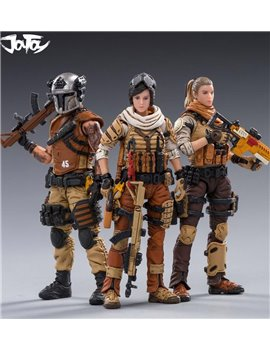 Joytoy 1/18 45th Army Hunter League Set of 3 Soldier Figure Model