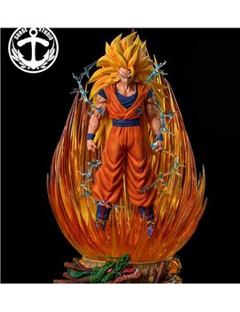 Surge Studio Dragon Ball 1/4 Super Saiya 3 Goku Resin Statue