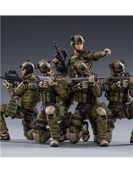 Joytoy 1/18 Pla Army Ground Force Action Figure PVC Military Soldiers Model Collectible Toys 3.75 Inch