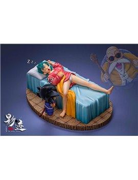 DIM Model Studio Dragonball Scenes Series Goku & Bulma