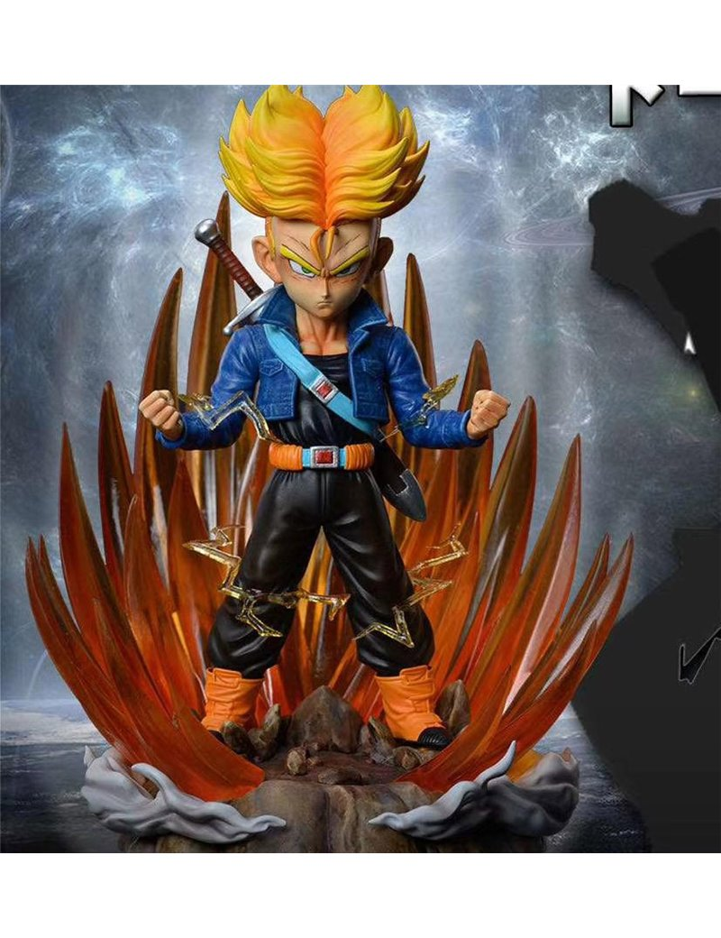TM Studio Dragonball WCF Scale Trunks Statue