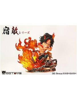 BDTOYS One Piece Portgas·D· Ace Resin Statue