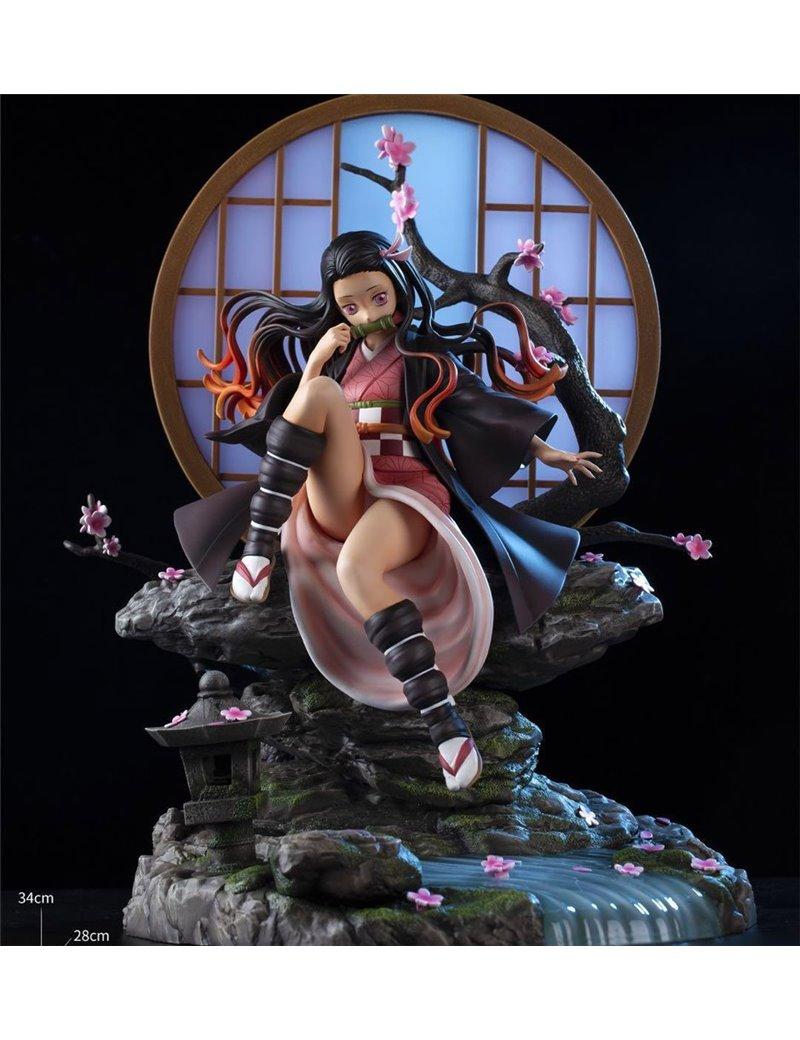 XZ Studios X DBZ Home Resin Statue Collectable Toy Demon Slayer Kamado Nezuko