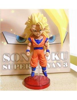 League Dragonball WCF Super Saiya 3 Goku Resin Statue