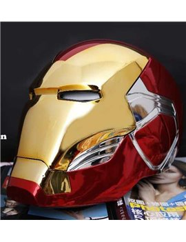 Cattoys 1/1 LED Helmet Electronic Open/Close For Iron Man MK 85 Cosplay