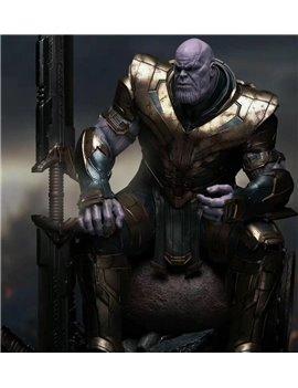 Queen Studios Marvel 1/4 Thanos Polystone Statue Standard Ver.