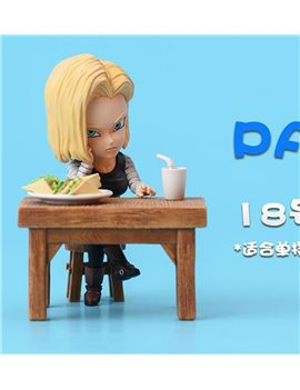 LEAGUE Studio Android 18 Eating Part2 ( With Desk)