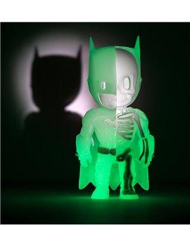 4D XXRAY Mighty Jaxx Jason Freeny Glow In Dark Ver. Batman Dissected Figure