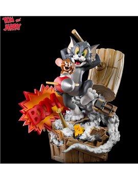 Iron Studios TOMJER32820-13 Tom & Jerry Prime Scale 1/3 Statue