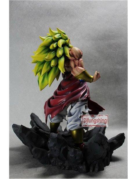 "Djfungshing Dragonball Kai 14"" BROLY 3 WILD STYLE RESIN STATUE"