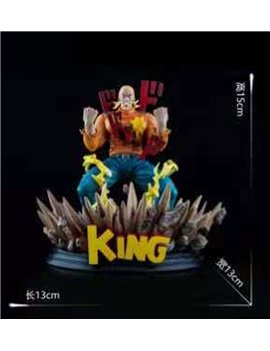 FF Studio ONE PUNCH MAN KING Statue Small Ver.