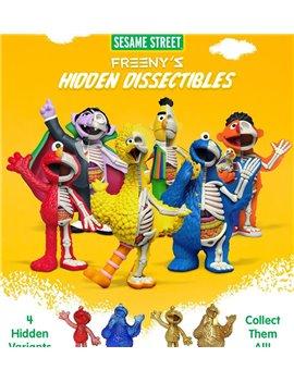 Mighty Jaxx Sesame Street Big Bird Elmo Hidden Dissectible Blind Box Vinyl Set