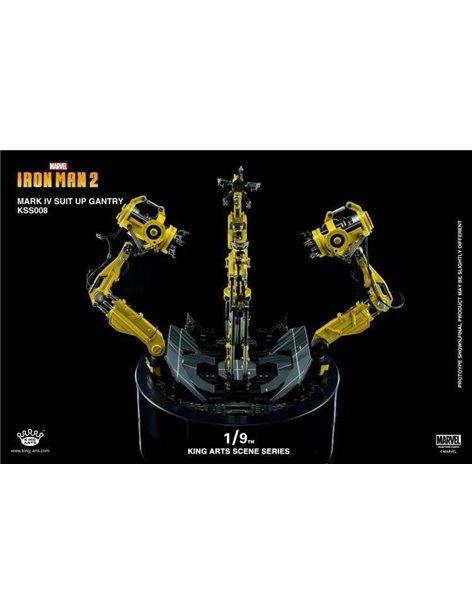 King Arts Scene Series KSS008 Mark IV Rotating Gantry For 1/9 Iron Man