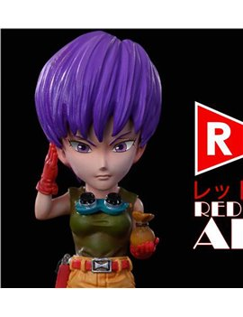 League Studio Red Ribbon Army Colonel Violet WCF Scale Statue