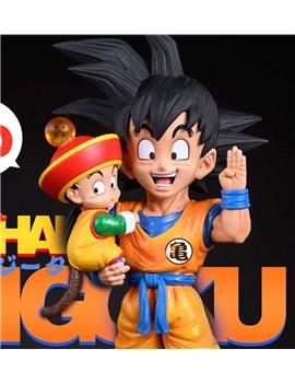 League Studio Goku & Gohan WCF Scale Statue