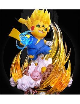 NC Studio Majin Vegeta x Pikachu Statue