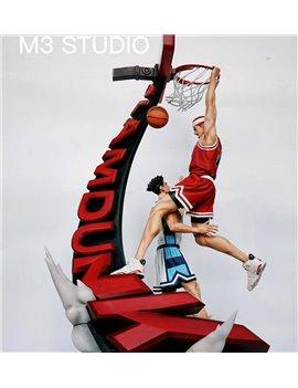 M3 Studio SLAM DUNK Hanamichi Sakuragi Playing Basketball