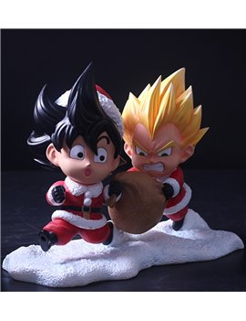 MAO Studio Christmas Version Goku & Vegeta Statue