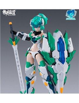 E-Model 1/12 Armor ATKGIRL Four Saint Monster Model Kit
