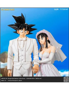 FC Studio 1/4 Goku & Chichi Wedding Resin Statue