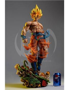 CW 1/1 Dragonball Goku Resin Statue
