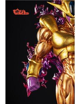 Master Grade 1/4 Dragonball Cooler Coora Resin Statue Golden Ver.