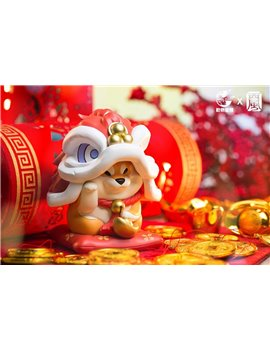 Animal Planet X West Wind Shiba Lycium Chinese New Year Dragon Fortune Ver.