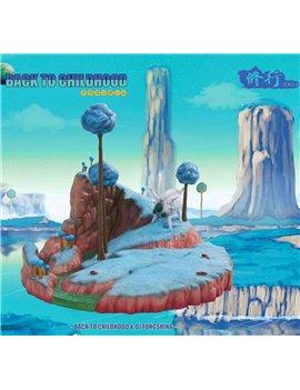 BTC X Master Grade Dragonball Namek Planet Resin Base Diorama