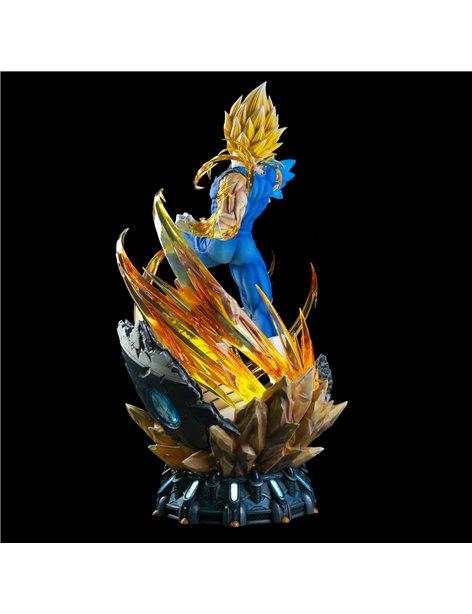 Last Sleep Dragonball Majin Vegeta Resin Statue
