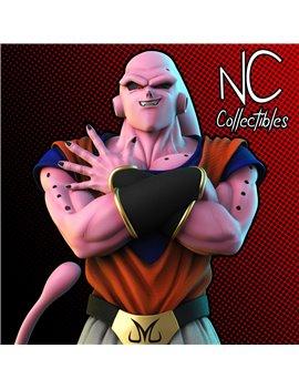 NC Collectibles Dragonball Buu Han Gohan & Ghost Team Resin Statue