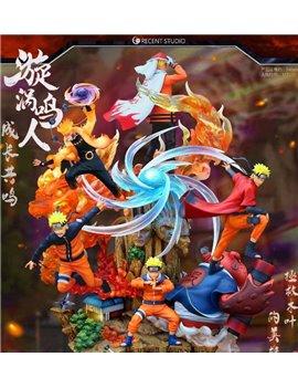 Crescent Studio One Life Naruto Resin Statue