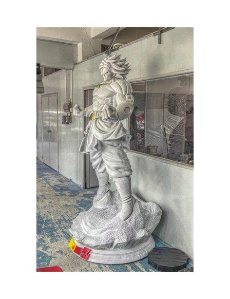 Studio 8 Life Size Broly Resin Statue