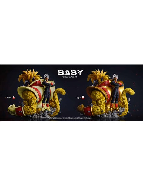 SHK Dragonball Bady Ape Oozaru Resin Statue