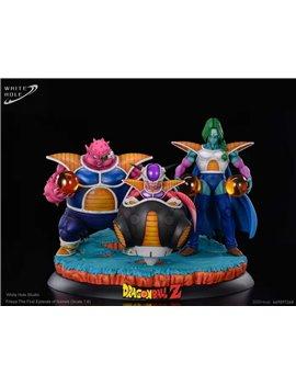 White Hole Studio Dragonball Freeza Zabon Dodoria Resin Statue