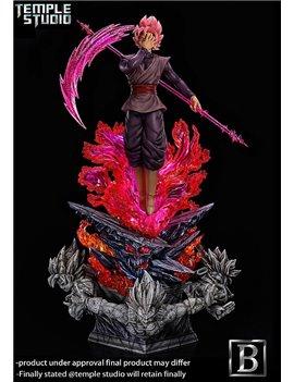 Temple Studio Dragonball Black Rose Goku Resin Statue
