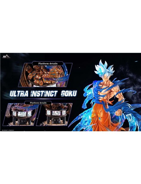 Tunqi Dragonball Ultra Instinct Goku Resin Statue