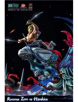 Jimei Palace One Piece Zoro Vs Basil Hawkins Resin Statue