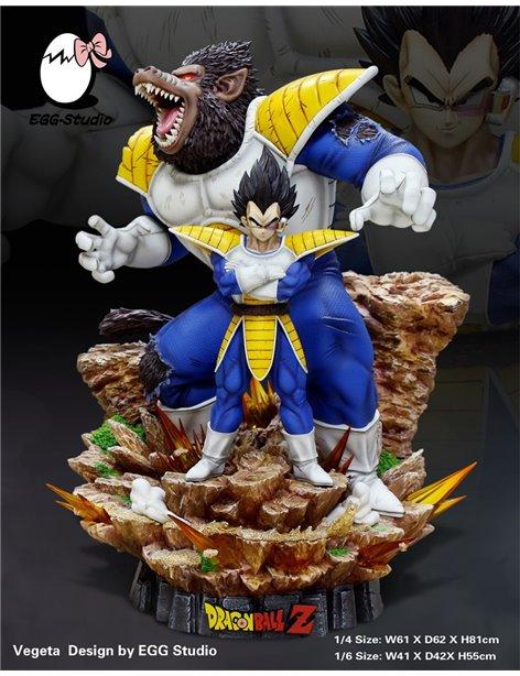 Egg Studio Dragonball Vegeta & Oozaru Resin Statue