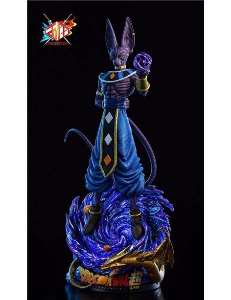 WS Studio Dragonball Bills Beerus Resin Statue