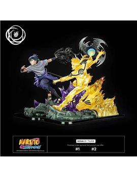 Tsume Naruto & Sasuke Resin Statue Set