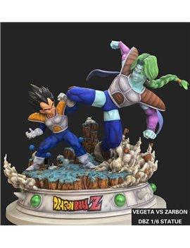 FMZ-Studios Dragonball 1/6 Vegeta vs Sabo Resin Statue