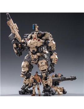 JoyToy 1/25 JT0203 Steel Bone Armour & Action Soldier Figure Desert Version Model Collectible Toys
