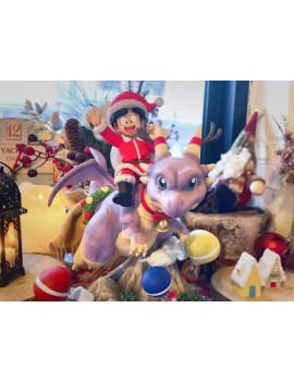 T-Rex Studio Dragonball Santa Claus Gohan Dragon Rider Resin Statue