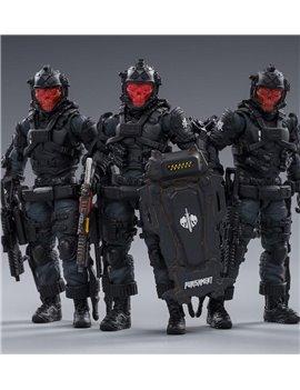JoyToy 1/18 JT0135 Skeleton Forces-Hell Grim Reaper Action Figures Set of 3 Soldier Model