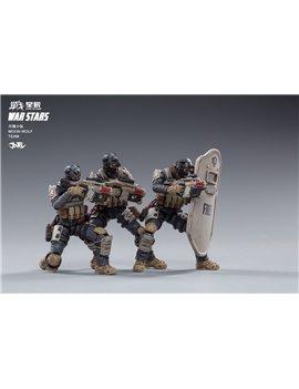 JoyToy 1/18 War Star Moon Wolf Team Set of 3 Soilder Figures JT0081
